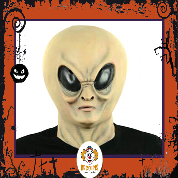Careta Latex Alien